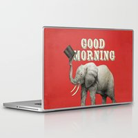good morning Laptop & iPad Skins featuring Good Morning by Eric Fan