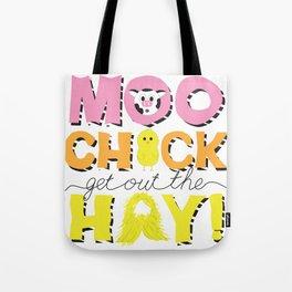 Moo Chick Tote Bag