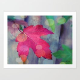 Fall Celebrations Art Print
