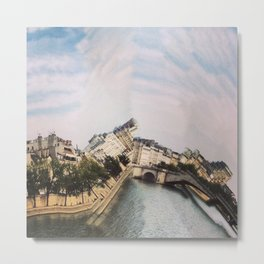 La Seine, Paris Metal Print