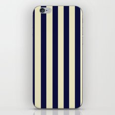 Navy Stripes iPhone & iPod Skin