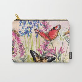 Wild meadow butterflies Carry-All Pouch