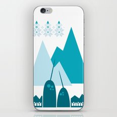 Heart the Narwhal iPhone & iPod Skin