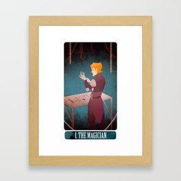 tarot - the magician. Framed Art Print