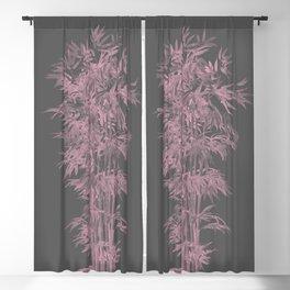 Bamboo fantasy Blackout Curtain