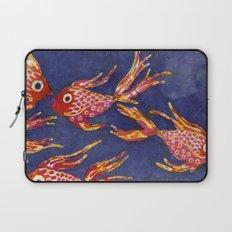 Goldfish batik Laptop Sleeve
