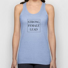 Strong Female Lead Unisex Tank Top