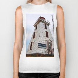 Cape Egmont Lighthouse and Radio Tower Biker Tank