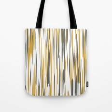 Gold gray and white Tote Bag