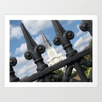 Fenced In Art Print