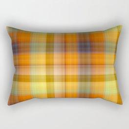 Tutti Frutti Plaid Rectangular Pillow