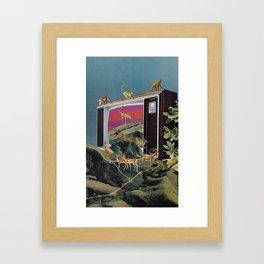 Animal Channel Framed Art Print
