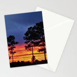 Sky On Fire Stationery Cards