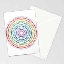 Colorful Mandala 2 Stationery Cards