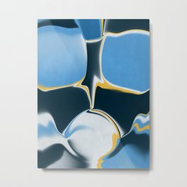 Futuristic Abstract  Metal Print