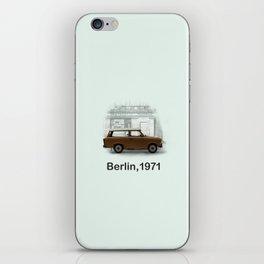 A Trabbi in Berlin iPhone Skin