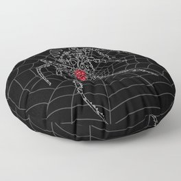 AG: Tribal Spider Floor Pillow