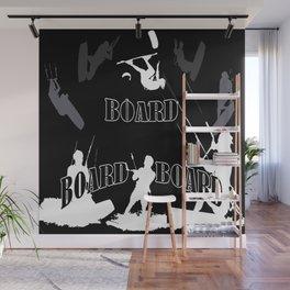 Board Board Board Kiteboarding Wall Mural