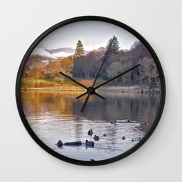 By the Lakeside - Derwent Water Wall Clock