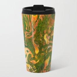 Marbleized and Glazed Travel Mug