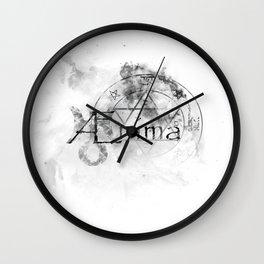 AEnima // Astrological Symbols Wall Clock