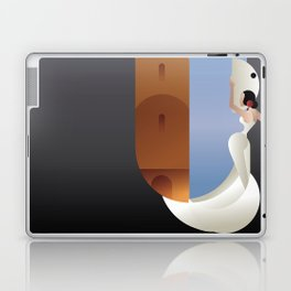 Art Deco styled Spain Flamenco dancer Laptop & iPad Skin