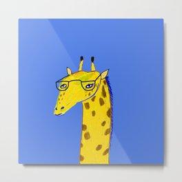 Giraffe. Metal Print