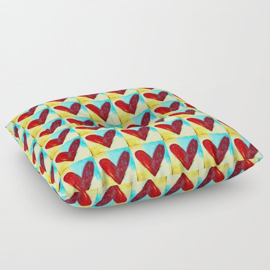 An Abundance of Love Floor Pillow
