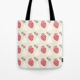 Berries and Cream (light) Tote Bag