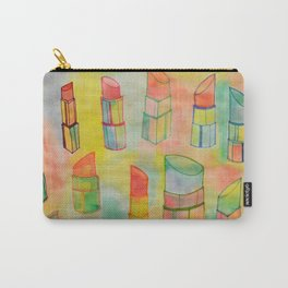 Watercolor Lipstick Carry-All Pouch