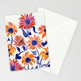 Sunflowers – Sunset Palette Stationery Cards
