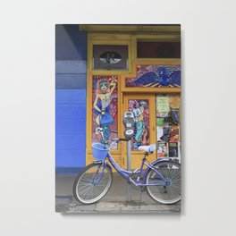 New Orleans Frenchman Bicycle Metal Print