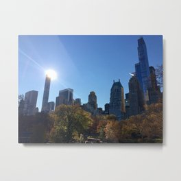 Autumn in NYC Metal Print