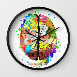 Human Brain Wall Clock