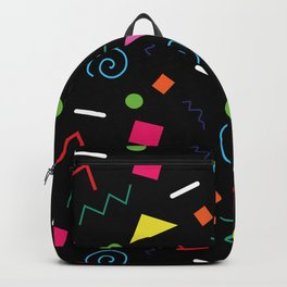 Early 90's Confetti Toss Backpack