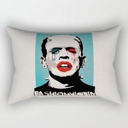 =Boris Karloff=FASHIONVICTIM= Rectangular Pillow