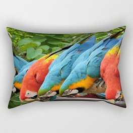 A Pandemonium Line Up Rectangular Pillow