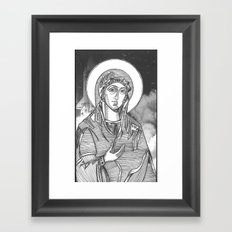 Madonna of the Launches Framed Art Print