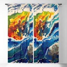 Deep Sea Rainbow Blackout Curtain