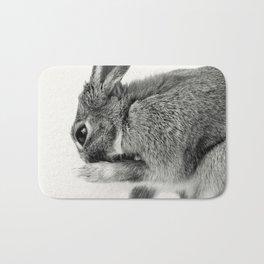 Rabbit Animal Photography Bath Mat