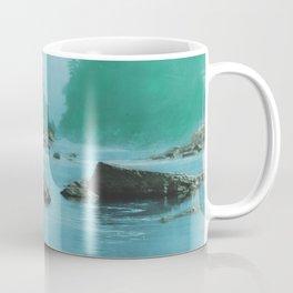 A smoky day at the Sugar Bowl--Hupa Indian Coffee Mug