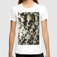 skulls T-shirts featuring skulls by SINPE