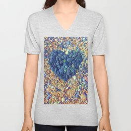 Hard Heart Unisex V-Neck