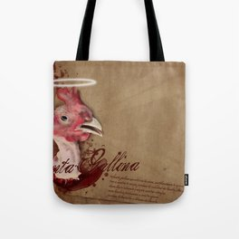 where are the chicken wings? Tote Bag