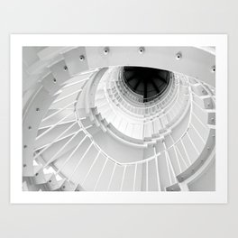 The Winding Staircase Art Print