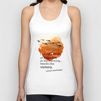 apocalypse now Tank Tops featuring Apocalypse now by Nxolab