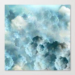 """""""Cotton clouds blue Heaven"""" Canvas Print"""