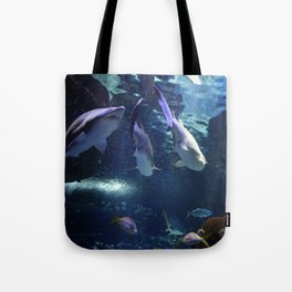 Shark Party Tote Bag