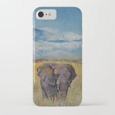 Elephant Savanna iPhone 7 Slim Case