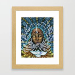 Feminine Rising Framed Art Print